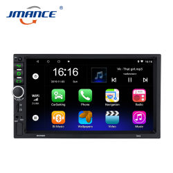 Android 차량용 라디오 오디오 스테레오 FM 2DIN 7918 DVD 1024 * 600 GPS 내비게이터 Bluetooth 지능형 자동차 라디오 및 비디오 MP3 MP4 MP5 차량용 플레이어