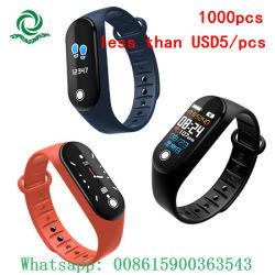 USD5/PCS Bluetoothのギフトのスマートな腕時計の防水デジタルスポーツのブレスレットよりより少し