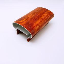 옥외 나무로 되는 곡물 발코니 층계 방책 알루미늄 손잡이지주