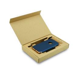 Envases de papel kraft blanco Teléfono Móvil de verificación