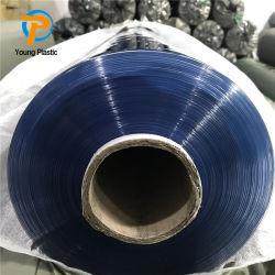 0,1 mm Super película de PVC suave de color claro con relieve para el embalaje