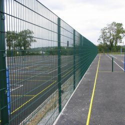 庭の保護塀の/Airportの塀の網か道の塀の網