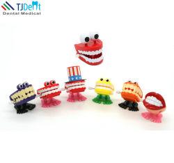 Dental Clinic decorazione Bambini regalo Bambini presenti Vento su catena Saltando i denti danzanti giocattolo