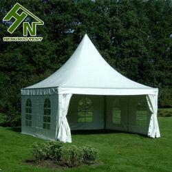 En el exterior de tejido impermeable de PVC blanco 6x6m de la Pagoda de aluminio de carpa para Evento