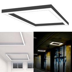 75*75mm Rectangle, carrés linéaires de LED pour éclairage de bureau Vente chaude maintenant