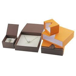 熱い販売のボール紙のリングのブレスレットのための小型引出しの宝石箱