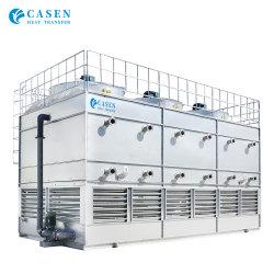 Certificado de la marca CTI Casen de aire evaporativo Cross Current/Contraflujo Tipo de circuito cerrado de agua de acero de la torre de refrigeración
