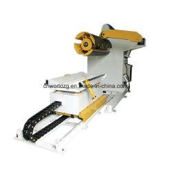 Strato Uncoiler della bobina con il motore ed il carrello idraulico facoltativo