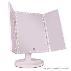 Top Verkoper Vanity LED verlicht Travel make-up spiegel