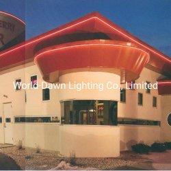Im Freien Innenhotel-Stab-Weihnachtsdekoration einfache Installations-lange Lebenszeit und starkes Neonflexlicht Haltbarkeit Belüftung-LED