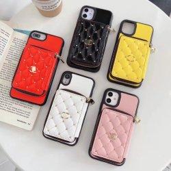 Мода роскошные дизайнерские телефон чехол для iPhone12promax с карточки мешок