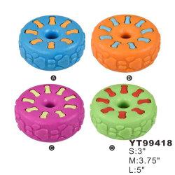 Giocattolo da cane assortito a forma di pneumatico di nuovo design (YT99418)