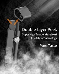 2021 تدفئة بيع ساخنة لا حرق السجائر الإلكترونية جهاز بلوسغ K8 مع وضع التنظيف الأوتوماتيكي