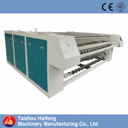 Steamか電気によって熱される洗濯のホテルシートのアイロンをかける機械
