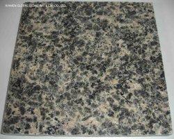 Boa qualidade de pele de leopardo chinês amarelo/verde escuropolido de granito multicor ladrilhos de parede de banho Cozinha Decoração de bancada