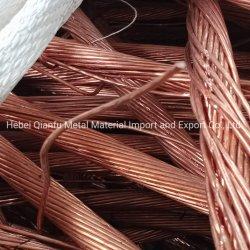 Pureza elevada desperdícios de fios de cobre resistente à abrasão e resistentes à corrosão desperdícios de fios de cobre