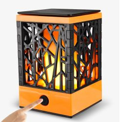 Wasserdichte LED flackernde flammenlose Lichter des im Freiengarten-für Tisch, im Freien, Partei