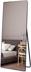 طول كامل الطابق الأسود فساتين ماكياج مرآة مستطيل كبير لغرف النوم غرفة المعيشة والحمام مجهز بغرفة مرآة الزينة