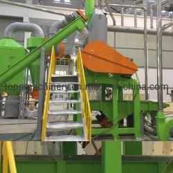 Línea de producción de residuos de reciclaje de llantas