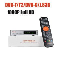 2020 Gtmedia V7 TT TV Box 1080p الدعم H. 265 HEVC DVB-T/T2/DVB-C Full Speed USB 3G Dongle USB WiFi Update من tt PRO
