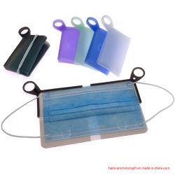 실리콘 페이스 마스크 홀더 휴대용 실리콘 케이스 접이식 환경 친화적 소재 코스와 입 덮개 홀더를 쉽게 청소합니다