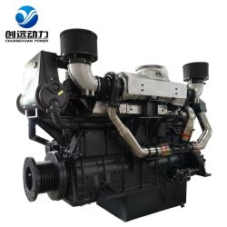 Sdec 33W de potência elevada 1000HP 6 cilindros de arrefecimento de água marinha de barco grossista italiano Kits Industrial Motor Diesel Motor