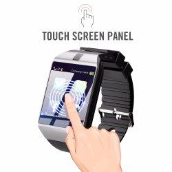 Vigilância inteligente Bluetooth Dz09 Smartwatch Monitor Sono Despertador Chamada de resposta de discagem TF SIM Câmera de vigilância inteligente de cartão para o Android
