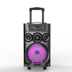 Woofer de 8 pulgadas portátil inalámbrico exterior altavoz Bluetooth carrito