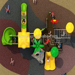 Spel van de Jonge geitjes van de Speelplaats van de Speelplaats van de Speelplaats van het Vermaak van China Feiyou het Openlucht Plastic Openlucht Opblaasbare