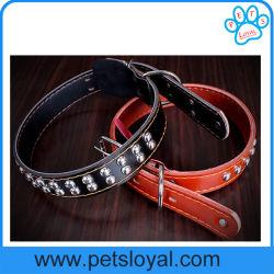 Migliore collare di cuoio dell'animale domestico della fabbrica per i cani (HP-106)