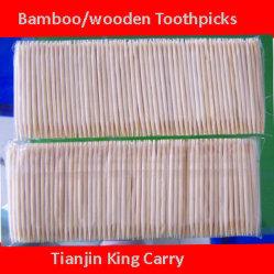 Palillos de madera o bambú embalaje bolsa de plástico