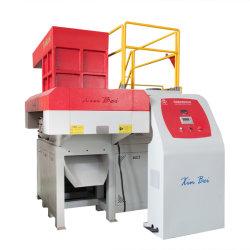 Tubo de Plástico Rígido Resíduos Multiuso de PP PE Triturador de eixo único de materiais para reciclagem