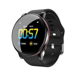 Heart Rate Body Temperature Monitor Leather Belts Metal Shell Smart Sports WatchのZl01 Smart Bracelets