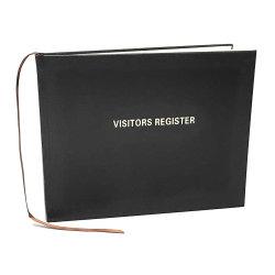 El logotipo grabado Plain mejor regalo de boda el enlace de tapa dura personalizada cuero pu Libro de visitas