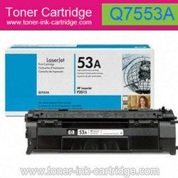 Schwarze Toner-Patrone für HP Q7553a (53A)