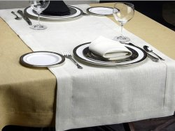 Table Cloth With Hemsitch (TR-0012)