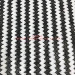 온난한 양털 담요를 위한 100%년 폴리에스테 양이온 자카드 직물 Flannel 직물 또는 가정 직물 또는 의복