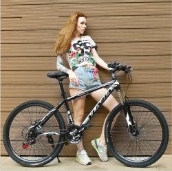 Uomini freddi d'acciaio ad alto tenore di carbonio a buon mercato all'ingrosso della bicicletta MTB di sport della Cina che corrono la bici di montagna da vendere
