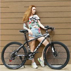 Großhandelsstahlmänner des China-billig High-Carbon kühle Sport-Fahrrad-MTB, die Gebirgsfahrrad für Verkauf laufen
