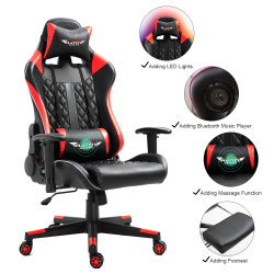 Qualität PU-lederner ergonomischer Schwenker-Stuhl-justierbarer Computer-Spiel-Stuhl