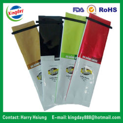 Saco de embalagem de café com material metálico & & a válvula de retenção de estanho