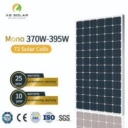 Sonnenkollektor des ersten Grad-370-395m und Solarwasser-Heizung für Import-Typen
