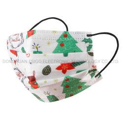 Maschera di protezione igienica protettiva di natale di modo di Diposable di prezzi del commercio all'ingrosso della polvere civile poco costosa all'ingrosso di uso per gli adulti