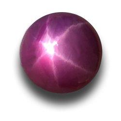 Starlight Rosa Ruby Pedras sintéticas de alta qualidade Rosa solto jóias de estrela