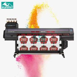 Impressora Digital150-160 Ucjv e corte com 1 cabeças de impressão Richo no exterior