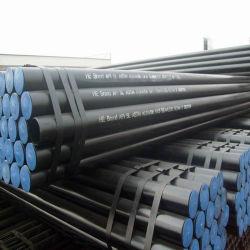API 5L de água/óleo/gás de aço carbono dos tubos sem costura/costura