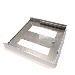 Melhor Preço chapa metálica colorida Trapezoid telhado metálico Grill Folha a folha de malha de metal