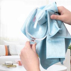 Paño de limpieza de toalla de microfibra de vidrio de paño de microfibra para Multiuso (4005)