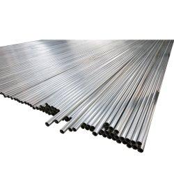 Longueur de tuyau en acier métallique rond 1pouce IMC fer galvanisé avec bouchons à tuyau à filetage
