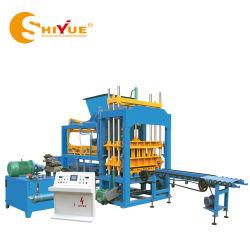 Qt5-15 machinerie de construction automatique de Vibration hydraulique/Curbstone/finisseur/Paving/solides/de blocs creux/machine à fabriquer des briques